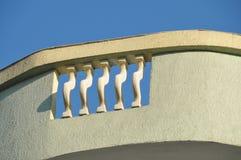 балкон цветастый Стоковая Фотография
