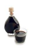 бальзамический уксус бутылки Стоковое фото RF