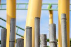 Бамбуки и американская горка Стоковые Фотографии RF