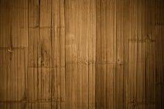 Бамбуковая деревянная предпосылка Стоковая Фотография RF