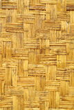 Бамбуковая деревянная стена текстуры Стоковое фото RF