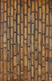 Бамбуковая картина стены Стоковые Фото