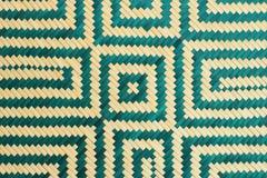бамбуковая картина weave Стоковые Фото