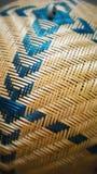 Бамбуковая крышка еды Стоковая Фотография