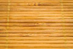 Бамбуковая предпосылка плиты Стоковое Изображение