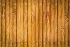 Бамбуковая предпосылка плиты Стоковая Фотография