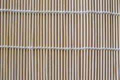 Бамбуковая рогожка тросточки стоковые изображения