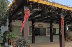 Бамбуковая сплавляя касса Yangshou Китай Стоковое Фото
