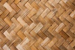 Бамбуковая тайская предпосылка стиля Стоковое Изображение RF