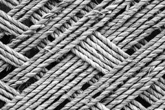 Бамбуковая текстура веревочки Стоковое Изображение