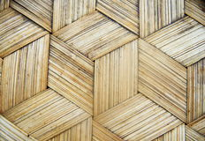Бамбуковая текстура корзины, Стоковое Изображение RF
