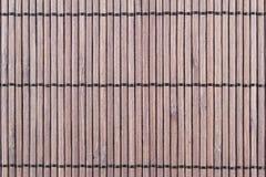Бамбуковая текстура предпосылки циновки Стоковые Фото