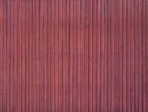 Бамбуковая текстура placemat Стоковое Изображение