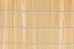 Бамбуковая циновка суш Стоковые Изображения RF