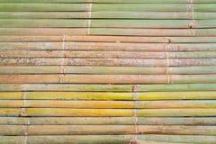 Бамбуковая циновка тайского в выходные дни рынка Стоковая Фотография