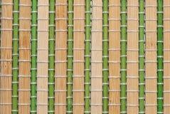 Бамбуковая циновка Стоковые Изображения