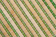 Бамбуковая циновка Стоковая Фотография RF