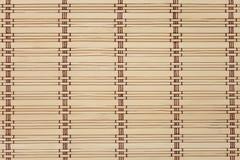 Бамбуковая циновка Стоковое Изображение