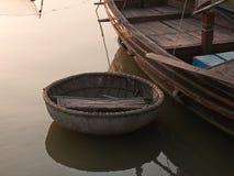 бамбуковая шлюпка Стоковое Фото