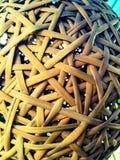 Бамбуковое гнездо для остатков Стоковые Фото