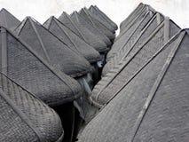 Бамбуковой сформированная шляпой крышка алтара соуса Стоковое фото RF