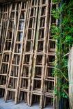 Бамбуковые лестницы Стоковое Фото