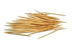 Бамбуковые зубочистки стоковая фотография