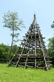 Бамбуковые поляки Стоковое фото RF