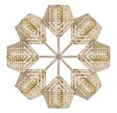 Бамбуковый вентилятор Стоковые Фото