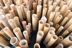 Бамбуковый деталь украшения Стоковые Фото
