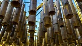 Бамбуковый канделябр стоковые изображения rf