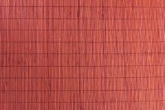 Бамбуковый коричневый цвет скатерти стоковая фотография