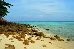 Бамбуковый остров (Таиланд) Стоковое фото RF