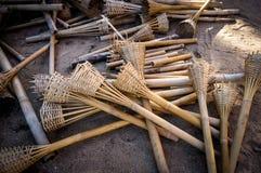 Бамбуковый продукт в Таиланде Стоковые Фото