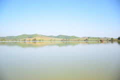 Бамбуковый плавать сплотка Стоковые Фотографии RF
