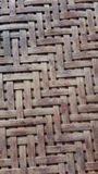 Бамбуковый сетчатый продукт handmade Стоковые Изображения