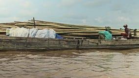 Бамбуковый сплоток сток-видео