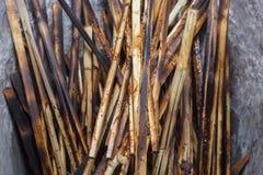 Бамбуковый швырок корабля Стоковое фото RF