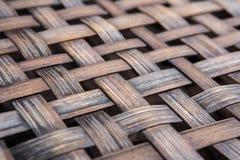 Бамбуковый weave basketry стоковые изображения rf