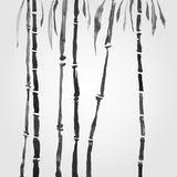 Бамбук в китайском стиле Стоковые Фото