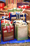 бамбук мешков носит стоковая фотография