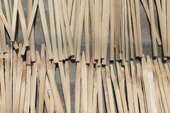 Бамбук разделенный для того чтобы раздробить бары на участки Стоковые Изображения RF