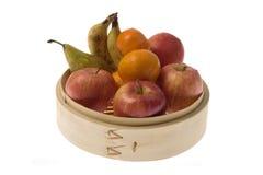бамбук fruits получатель Стоковые Изображения RF