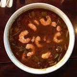 Бамия креветки Луизианы Стоковая Фотография