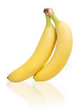 2 банана Стоковая Фотография