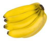 Бананы в конце вверх Стоковые Фото