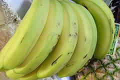 Бананы от магазина подробно Стоковая Фотография RF