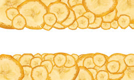 бананы предпосылки зрелые Стоковые Изображения RF