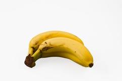 бананы предпосылки изолировали белизну Стоковые Фотографии RF