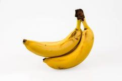 бананы предпосылки изолировали белизну Стоковая Фотография RF